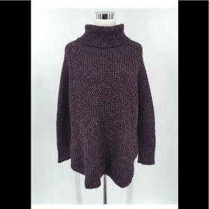 Free People Women's TURTLENECK Sweater Tunic Sz M
